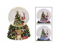 """Снежный шар с подсветкой """"Nikolaus an Baum"""""""