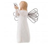 "Статуэтка ""Angel of Freedom""/ ""Ангел свободы"" от Susan Lordi Willow Tree Enesco"