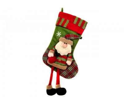 Новогодний носок Дед Мороз/ Снеговик