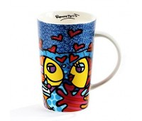Чашка Fish от Romero Britto