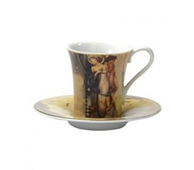 """Кофейная чашка с блюдцем """"Три грации"""" Goebel"""