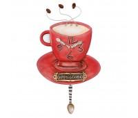 Настенные часы Cappuccino Cup Enesco