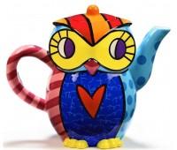 Чайник Owl от Romero Britto