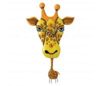 Настенные часы Jaffy the Giraffe Enesco