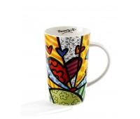 Чашка A New Day от Romero Britto