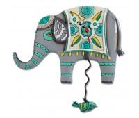 """Настенные часы """"Индийский слон"""" ENESCO"""