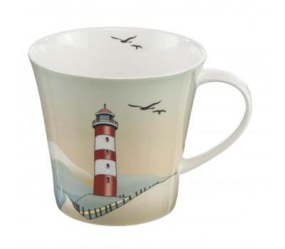 "Фарфоровая чашка ""Lighthouses"" Scandic home Goebel"