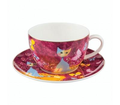 "Чашка с блюдцем ""Sogno di farfalle"" Rosina Wachtmeister Goebel"