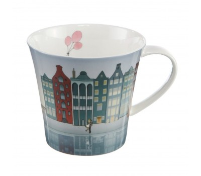 "Фарфоровая чашка ""Downtown Riverside"" Scandic home Goebel"