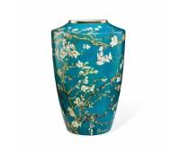 """Фарфоровая ваза """"Цветущие ветки миндаля"""" Goebel"""