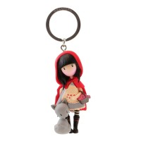 Брелок Little Red Riding Hood Gorjuss от Santoro London