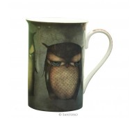 Чашка Grumpy Owl от Santoro London