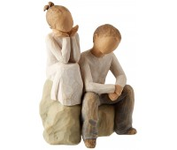 "Статуэтка ""Brother and Sister""/ ""Брат и сестра"" от Susan Lordi Willow Tree Enesco"